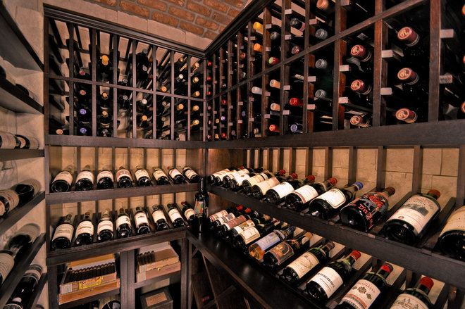 Traditional Wine Cellar by Sustainable Wine Cellars, LLC