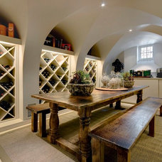 Contemporary Wine Cellar by Active Exposure Photography