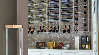 Recent Wine Wall install in an IDS Showhouse