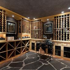 Traditional Wine Cellar by blurrdMEDIA