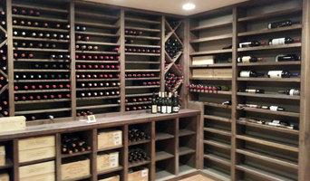 Reclaimed Oak Wine Cellar