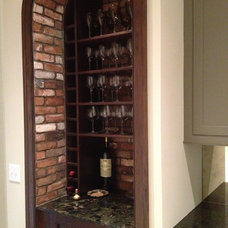 Traditional Wine Cellar by Stone Farm