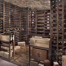 Rustic Wine Cellar by Innovative Wine Cellar Designs