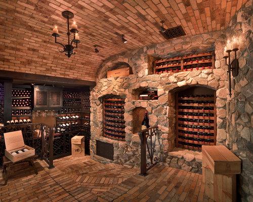 Barrels in the wine cellar - Decomurale inc.   Barrel Wine Cellar