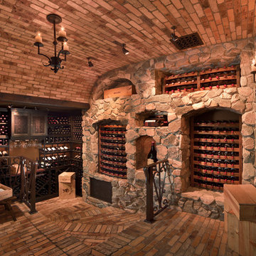 Reclaimed Wine Barrel Wine Cellars