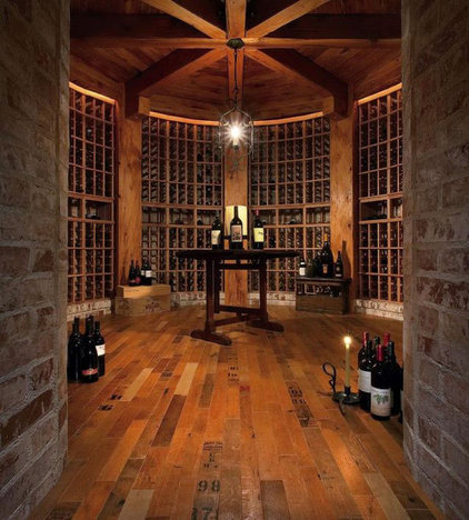 Traditional Wine Cellar by Reclaimed DesignWorks