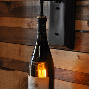 Recycled Wine Bottle Wall Sconce