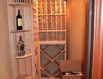 Redwood Custom Wine Racks Orange County