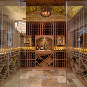 Regency 56th wine cellar