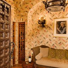 Mediterranean Wine Cellar by My Villa Austin
