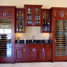 Traditional Wine Cellar by P.A.S. Interiors, LLC