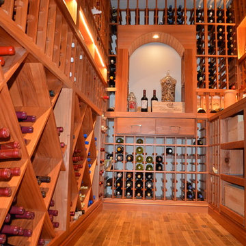Residential Custom Wine Cellar Construction - Irvine California Contractor