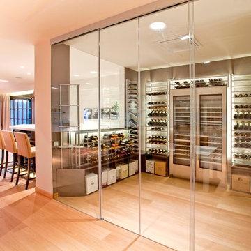 Residential Custom Wine Cellars (+ 1000 bottles)