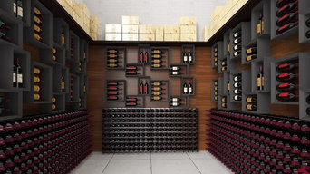 Residential wine cellar furniture