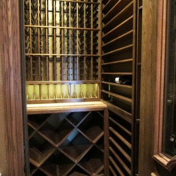 Residential Wine Cellar TX Interior