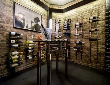 Retro Wine Cellar