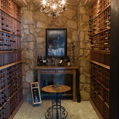 mediterranean wine cellar by RJ Aldriedge Companies Inc