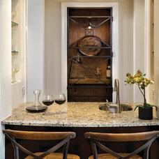 Traditional Wine Cellar by Arthur Rutenberg Homes