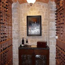 Mediterranean Wine Cellar by RJ Aldriedge Companies Inc