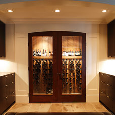 Eclectic Wine Cellar by Robert Bailey Interiors