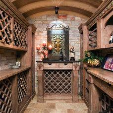 Wine Cellar by Kieran J. Liebl,  Royal Oaks Design, Inc. MN