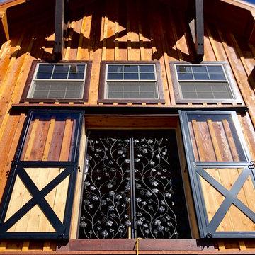 Ruidoso NM Grapevine Iron Wine Cellar Doors