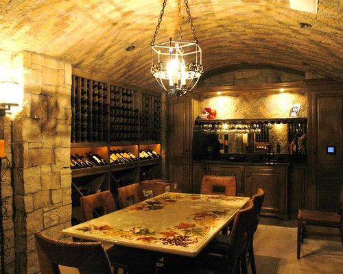 Los Angeles Wine Cellar Design Ideas, Remodels & Photos