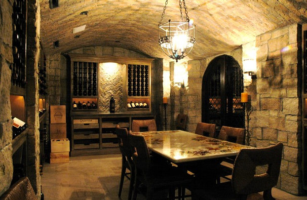Rustic Wine Cellar by The French Tradition