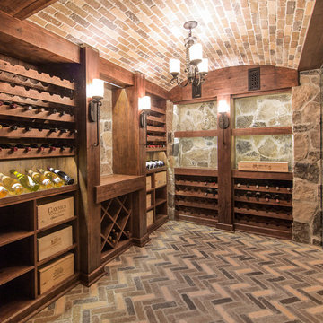 Rustic Tuscan Wine Cellars by Papro Consulting