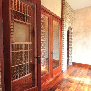 Rustic Wine Room