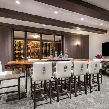 Sagaponack Estate Wine room