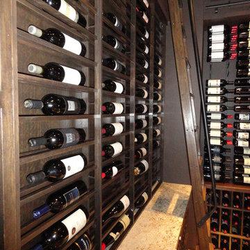 San Diego Marriott Marquis & Marina Contemporary Custom Wine Cellar VintageView