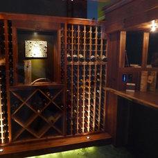 Wine Cellar by Gary Blackhawk