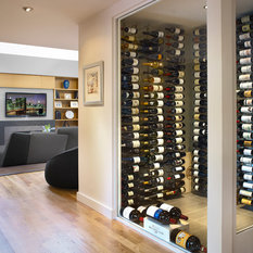 Modern Wine Cellar Dunedin 223 Modern Wine Cellar Design Photos with Display Racks
