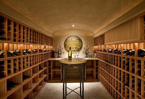 Mediterranean Wine Cellar by Sesshu Design Associates, Ltd