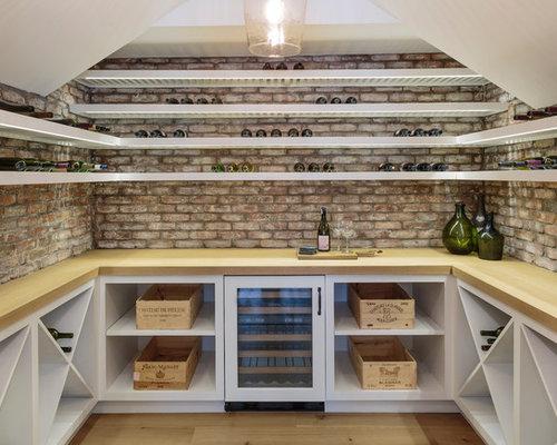Beach Style Wine Cellar Design Ideas, Remodels & Photos