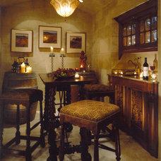 Traditional Wine Cellar by Conrado - Home Builders