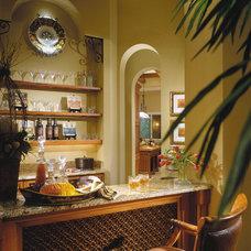 Mediterranean Wine Cellar by Sater Design Collection, Inc.