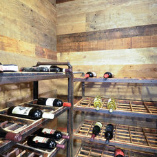 Industrial Wine Cellar by REFINED LLC