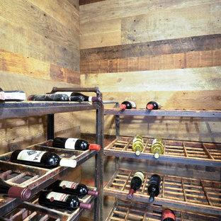 Réalisation d'une cave à vin urbaine.
