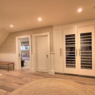 Design ideas for a nautical wine cellar in San Francisco.
