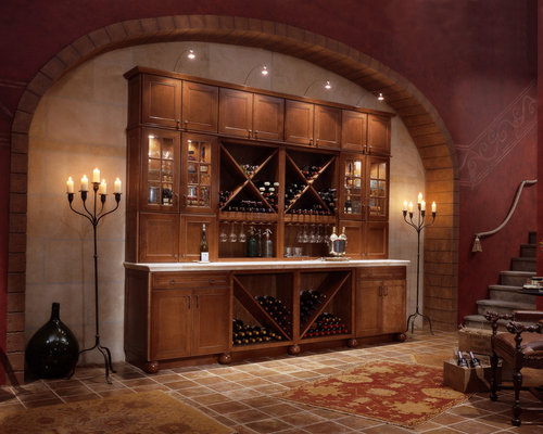 Mid Continent Cabinetry Wine Cellar Design Ideas Renovations Photos