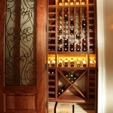 Mediterranean Wine Cellar by Kessick Wine Cellars