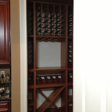 Select Series 'Wall Install' modular wine cabinets