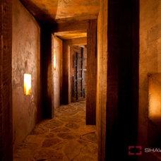 Traditional Wine Cellar by Ron Syrnyk/Designer