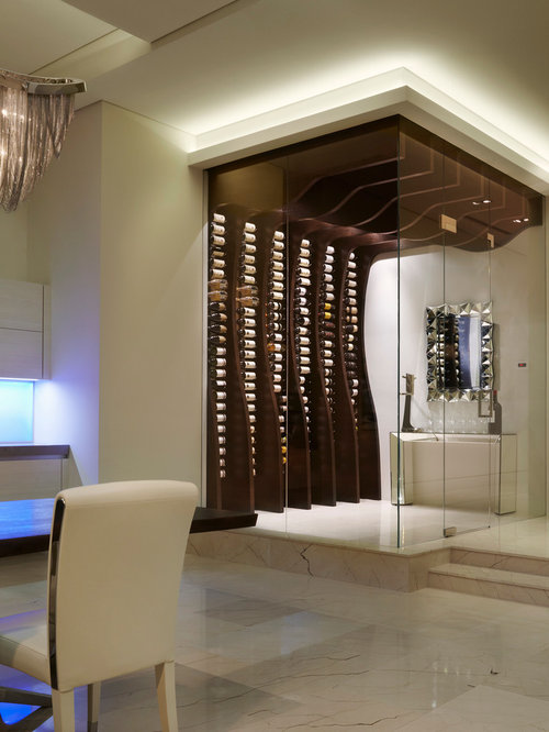 Contemporary Wine Cellar Design Ideas, Pictures, Remodel