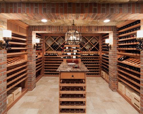 Brick Wine Cellar | Houzz
