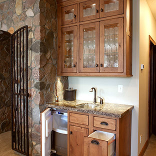 Inspiration for a timeless wine cellar remodel in Other