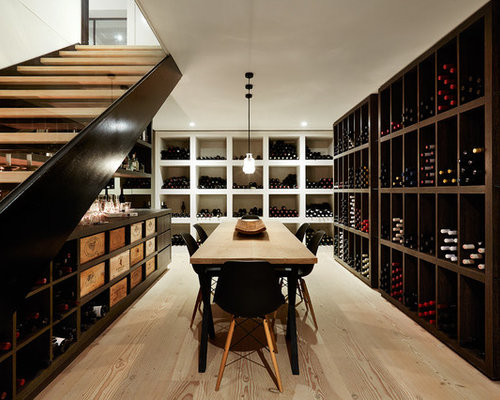 Modern Wine Cellar Design Ideas, Renovations & Photos