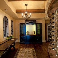 Mediterranean Wine Cellar by Norelco Cabinets Ltd